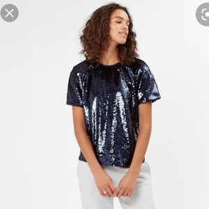 Sweaty Betty Sequin Top size xs